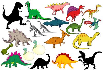 Dinosaurie tatueringar